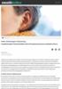Gehør: Bruk kroppen i lyttetrening