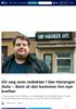 Gir seg som redaktør i Sør-Varanger Avis: - Best at det kommer inn nye krefter
