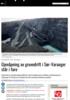 Gjenåpning av gruvedrift i Sør-Varanger står i fare