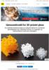 Gjennombrudd for 3D-printet glass
