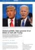 Global politikk: Seks grunner til at Biden er helt ulik Trump