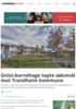 Gnist-barnehage tapte søksmål mot Trondheim kommune