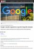 Google-ansatte organiserer seg etter lang tids misnøye