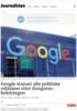 Google stanser alle politiske reklamer etter Kongress-beleiringen