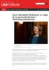Gunn Elisabeth Birkelund er valgt til ny generalsekretær i Vitenskapsakademiet