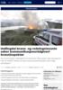 Hallingdal brann- og redningsteneste søker kommunikasjonsrådgiver/branninspektør