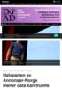 Halvparten av Annonsør-Norge mener data kan trumfe kreativitet