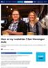 Han blir ny redaktør i Sør-Varanger Avis: - Ser jeg fram til å utvikle avisa videre