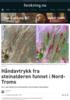 Håndavtrykk fra steinalderen funnet i Nord-Troms