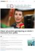 Håper på gradvis gjenåpning av skoler i Danmark over påske