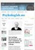Har kartlagt 80 prosent av alle med ruslidelser og psykiske lidelser i Norge