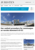 Har vedtatt prosedyre for nominasjon av norske dommere til ICC