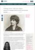 Hedwig Dohm: Vidd som våpen