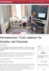 Heimekontor: Fullt møblert for tilsette ved Oslomet