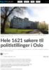 Hele 1621 søkere til politistillinger i Oslo