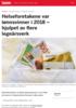 Helseforetakene var lønnsvinner i 2018 - hjulpet av flere legeårsverk