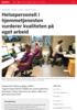 Helsepersonell i hjemmetjenesten vurderer kvaliteten på eget arbeid