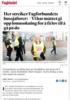 Her streiker Fagforbundets bussjåfører: - Vi har måttet gi opp lønnsøkning for å få lov til å gå på do