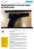 Høgskolelektor tatt med våpen og amfetamin