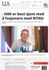 - HiM er best tjent med å fusjonere med NTNU