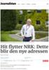 Hit flytter NRK: Dette blir den nye adressen