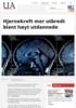 Hjernekreft mer utbredt blant høyt utdannede
