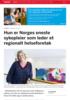 Hun er Norges eneste sykepleier som leder et regionalt helseforetak