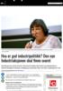Hva er god industripolitikk? Den nye Industriaksjonen skal finne svaret
