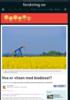 Hva er vitsen med biodiesel?