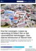 Hva har Lavangen, Loppa og Lørenskog til felles? Der er det journalistisk halvskygge. Den største blindsonen er likevel Oslo