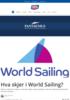 Hva skjer i World Sailing?