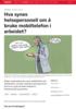 Hva synes helsepersonell om å bruke mobiltelefon i arbeidet?
