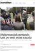 Hviterussisk nettavis tatt av nett etter razzia