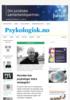 Hvordan kan psykologer bidra strategisk?