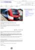 Hydrogendrevet tog på østerrikske spor