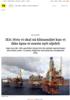 IEA: Hvis vi skal nå klimamålet kan vi ikke åpne et eneste nytt oljefelt