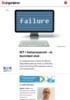 IKT i helsevesenet - et bunnløst sluk