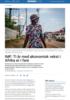 IMF: Ti år med økonomisk vekst i Afrika er i fare