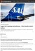 Ingen SAS-løsning med pilotene - flere hundre mister jobben
