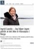 Ingrid Lauvås: - Jeg håper ingen påstår at det ikke er klassejuss i Norge