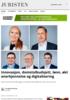 Innovasjon, domstolbudsjett, lønn, økt anerkjennelse og digitalisering