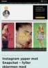 Instagram ypper mot Snapchat - fyller skjermen med reklame