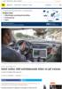 Intel og Mobileye Intel ruller 100 selvkjørende biler ut på veiene