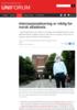 Internasjonalisering er viktig for norsk akademia