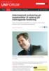 Internasjonal evaluering gir toppkarakter til satsing på fremragende forskning