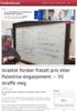Israelsk forsker fratatt pris etter Palestina-engasjement: - Vil straffe meg