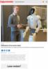 Italienere vil ha norsk robot