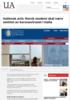 Italiensk avis: Norsk student skal være smittet av koronaviruset i Italia