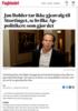 Jan Bøhler tar ikke gjenvalg til Stortinget, se hvilke Ap-politikere som gjør det