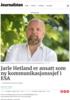 Jarle Hetland er ansatt som ny kommunikasjonssjef i ESA